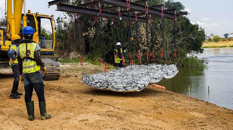 Protection des berges du fleuve Bandama
